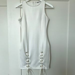 White Mini Dress!